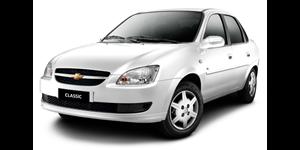 Chevrolet Corsa Classic fundo branco
