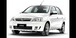 Chevrolet Corsa Sedan fundo branco