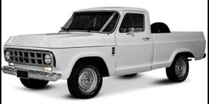 Chevrolet D-10 fundo branco
