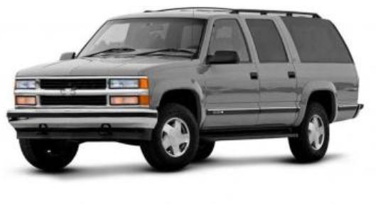 Chevrolet Grand Blazer com fundo branco