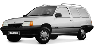 Chevrolet Ipanema fundo branco