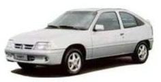 Chevrolet Kadett com fundo branco