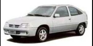 Chevrolet Kadett fundo branco