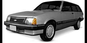 Chevrolet Marajo fundo branco