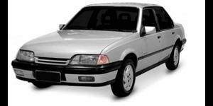 Chevrolet Monza fundo branco