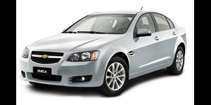 Chevrolet Omega fundo branco
