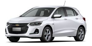 Chevrolet Onix fundo branco