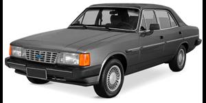 Chevrolet Opala fundo branco