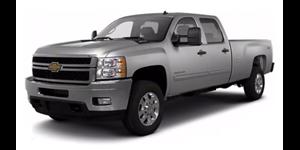 Chevrolet Silverado fundo branco