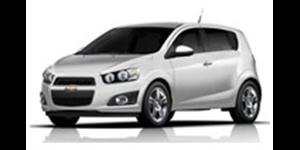 Chevrolet Sonic fundo branco