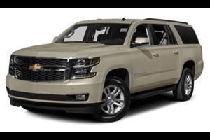 Chevrolet Suburban com fundo branco