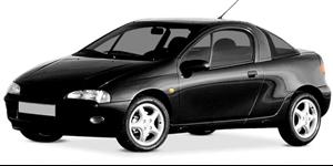 Chevrolet Tigra fundo branco