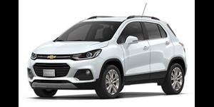 Chevrolet Tracker fundo branco