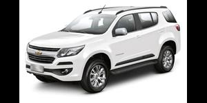 Chevrolet Trailblazer fundo branco