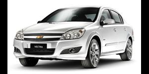 Chevrolet Vectra fundo branco