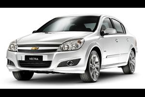 Chevrolet Vectra com fundo branco