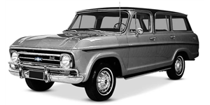 Chevrolet Veraneio fundo branco