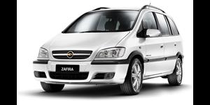 Chevrolet Zafira fundo branco