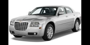 Chrysler 300C fundo branco