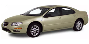 Chrysler 300M fundo branco