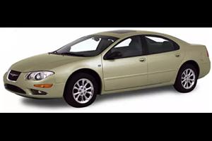 Chrysler 300M com fundo branco