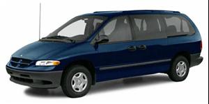 Chrysler Grand Caravan fundo branco