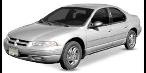 Chrysler Stratus fundo branco