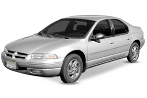 Chrysler Stratus com fundo branco