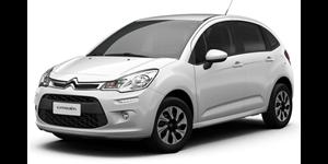 Citroën C3 fundo branco