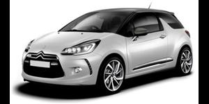 Citroën DS3 fundo branco
