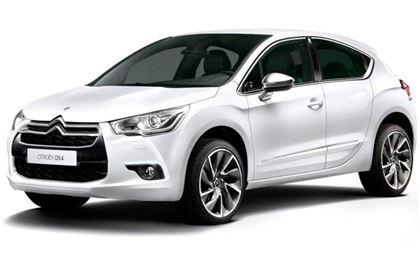 Citroën DS4 com fundo branco