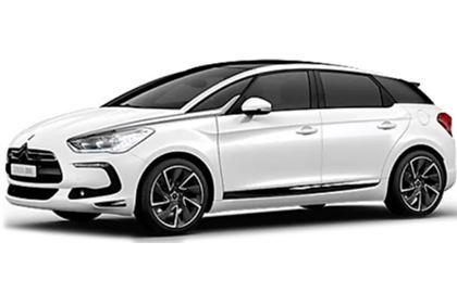Citroën DS5 com fundo branco