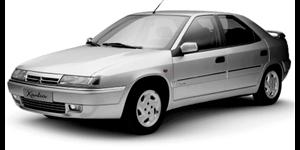 Citroën Xantia fundo branco
