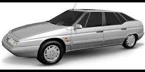 Citroën XM fundo branco