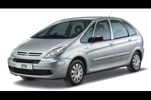 Citroën Xsara fundo branco