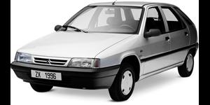 Citroën ZX fundo branco