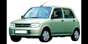 Daihatsu Cuore fundo branco