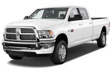 Dodge Ram com fundo branco