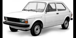 Fiat 147 fundo branco