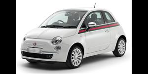 Fiat 500 fundo branco