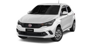 Fiat Argo fundo branco