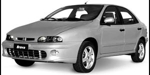 Fiat Brava fundo branco