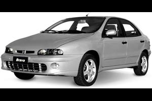 Fiat Brava com fundo branco