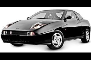 Fiat Coupe com fundo branco