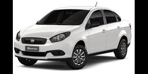 Fiat Grand Siena fundo branco