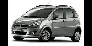 Fiat Idea fundo branco