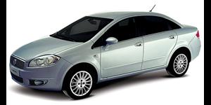 Fiat Linea fundo branco
