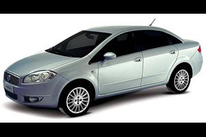 Fiat Linea com fundo branco
