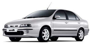 Fiat Marea fundo branco