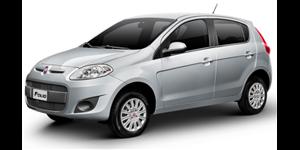 Fiat Palio fundo branco